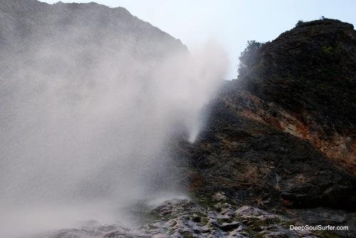 Under The Water Fall - RInka, Waterfall, Logarska Dolina, Slovenia