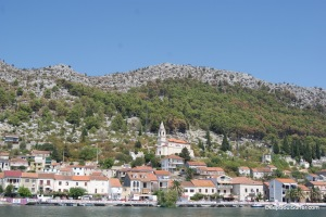 Ploče, The Dalmatian City Of Croatian Coast, Neretva River