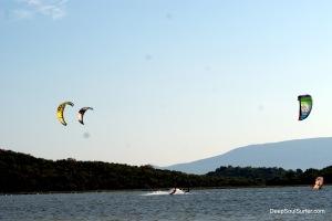 Kaikala Kite-surfing, Neretva River, Opuzen, Croatia