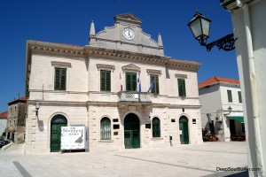 Opuzen City Hall, Opuzen, Croatia