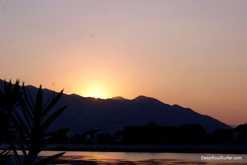 Dreamy Sunset, Neretva River, Opuzen, Croatia