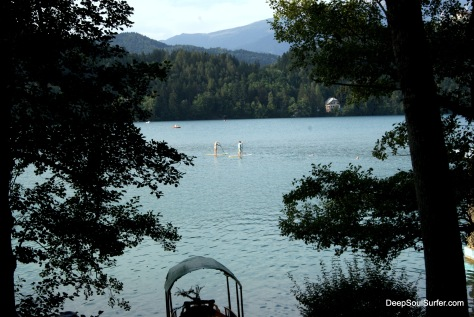 SUP (Stand Up Paddle) @ Bled