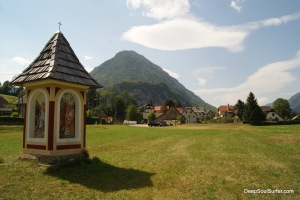 The Small Mountain Chapel, Mojstrana, Slovenia