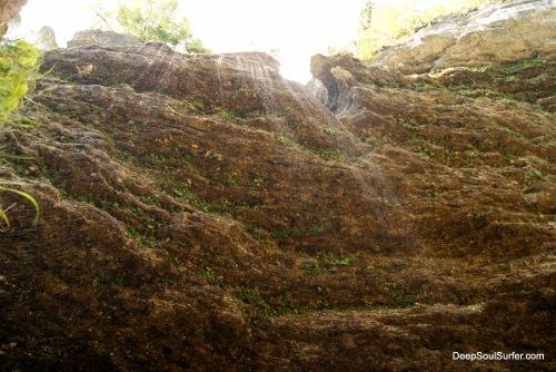 The Wet,  Leaking Lime Stone, Vrata Valley, Slovenia