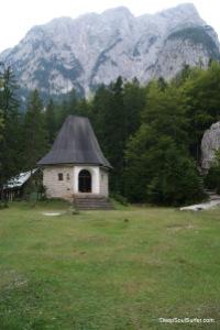 A Moutain Church, Vrata Valley, Mojstrana, Slovenia
