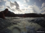 Surfing, Heavy Boat Traffic, Lake Bled, Slovenia