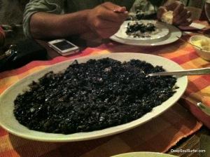Cuttlefish Risoto, Dalmatian Speciality, Konoba Na Kantini