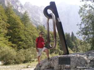 My Father At The Vrata Valey, Climbers Monument