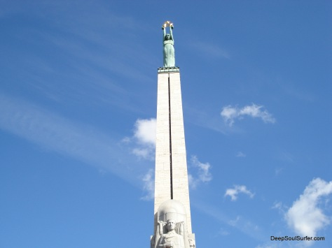 Statue Of Liberty, Riga, Latvia