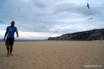 Beach Walk, Nazare