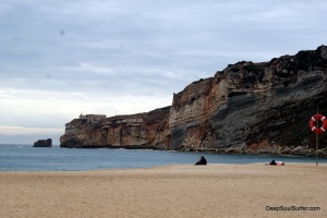 The Cliff Of Nazare