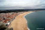 Cliff Side View Of Nazare, Portugal