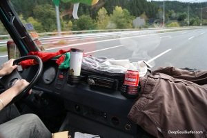 Drying Clothes On he Highway