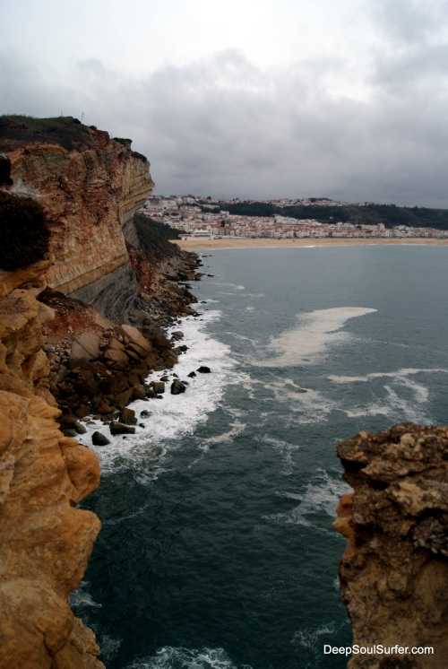 The City Beach Of Nazare