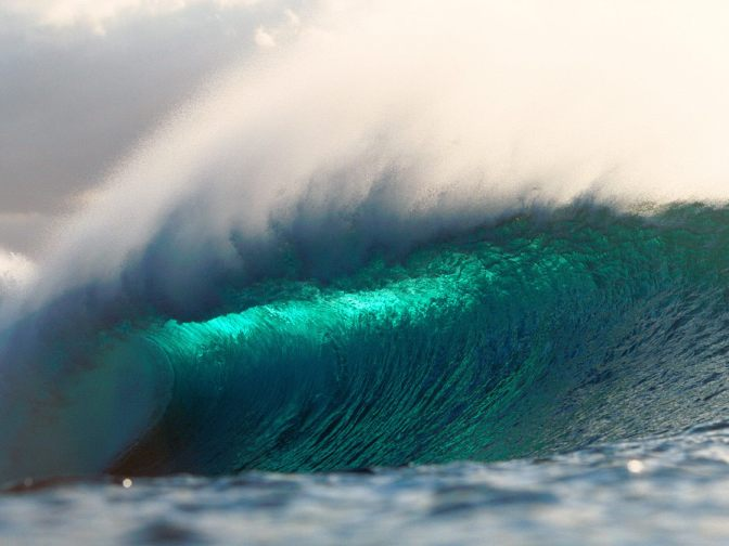 A Mountain Of A Wave