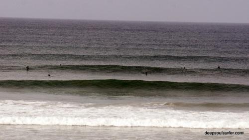 Big Waves On Baleal Beach, Portugal
