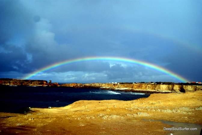 Rainbow @ Peniche Portugal