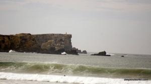 Big Wave Baleal Beach, Portugal