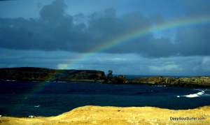 Rainbow From The Ocean, Peniche Portugal