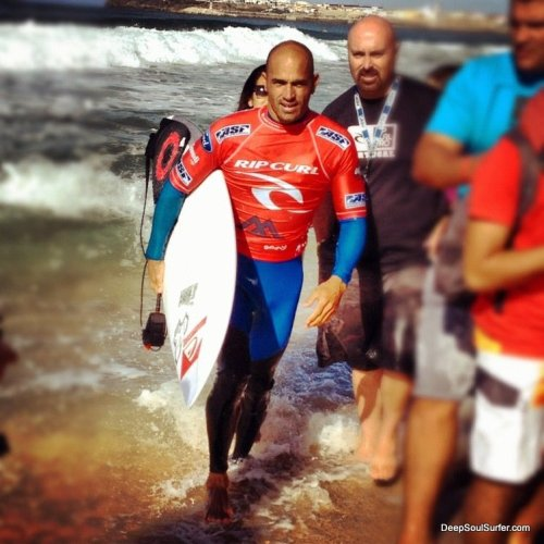Kelly Slater @ RIp Curl Pro Portugal 2012