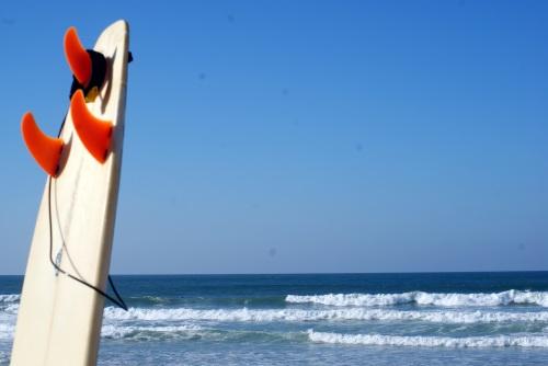 Surfboard & The Beach, Portugal