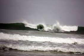 Nice Waves On Baleal Beach, Portugal