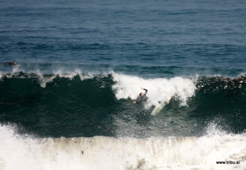 Wipe Out - Baleal Beach, Portugal