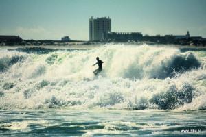 Big Messy Waves, Baleal Beach, Peniche Portugal