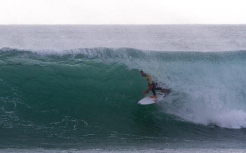Brett Simpson   -  Rip Curl Pro Portugal 2012, Supertubos