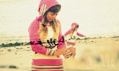 Let's doodle surf wear - uniqe hoodies