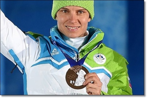 Teja Gregorin - Bronze Sochi 2014