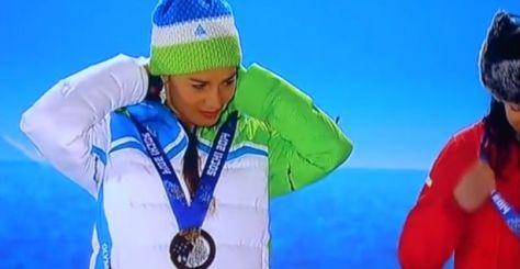 Tina Maze Downhill Gold - Sochi 2014