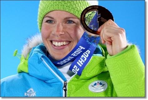 Vesna fabjan - Bronze Sochi 2014